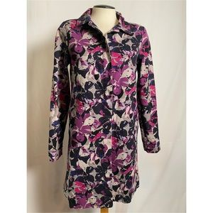 Thakoon for Target Floral Trench Coat